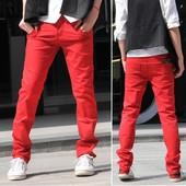 Мужские стильные брюки ,джинсы скинни H&M,размер eur- 31