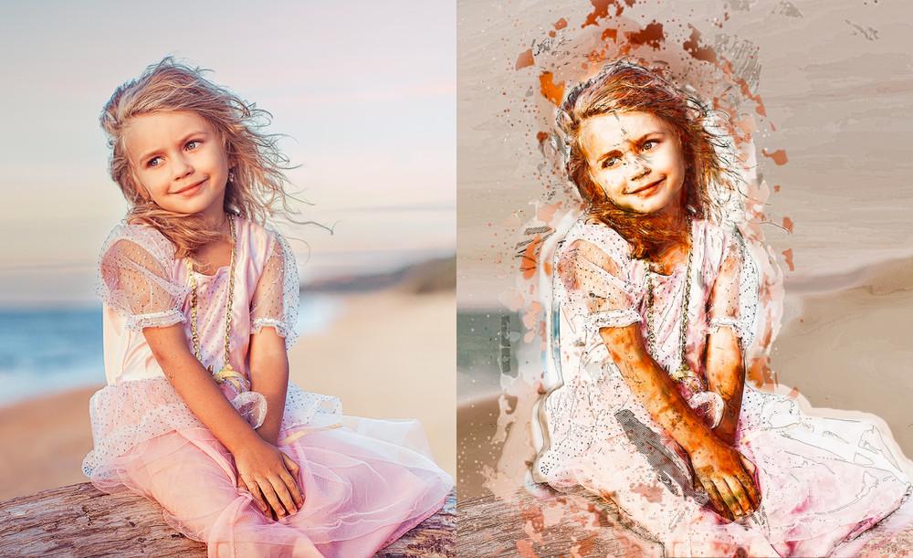 Уникальные стилизации и обработки фото фото №1