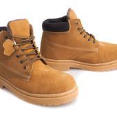Зимние ботинки - натуральная кожа