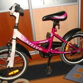 велосипед Pride Kelly 16 дюймов для девочек от 3 до 7лет  Состояние отличное