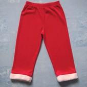 Продаю!!! 3-4 года Карнавальный костюм Санта, б/у. Только штаны.