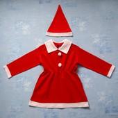 Продаю! 8-10 лет Карнавальный костюм Санта, б/у. Хорошее состояние, без пятен.