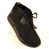 Комфортные мужские ботинки экозамш