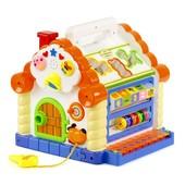 Развивающая музыкальная игрушка Теремок, сортер, свет, звук