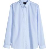 Рубашка легкой глажки h&m