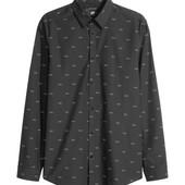 Рубашка h&m, легкая глажка