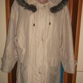 Куртка с капюшоном Парка ПОГ=61 см. Идеальное состояние