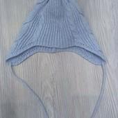 Демисезонная шапка Chicco 46 размер (12мес) в отличном состоянии!