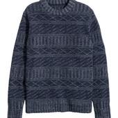 Классный шерстяной свитер h&m ,качество супер