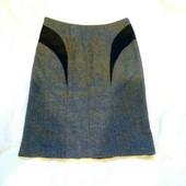 Теплая юбка полушерстяная 36 размера