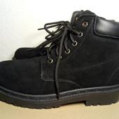 Ботинки кожа на меху новые 38 размер