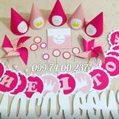 Детский праздник. декорациив стиле принцессы. все для кенди бара. первый годик.