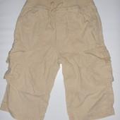 шорты бриджи (лён+котон) на 3-4 года