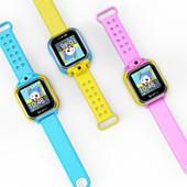Детские умные часы q200 с камерой 3G GPS Smart wacth