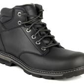 Распродажа! Кожаные ботинки Skechers - практичные, на болото и слякоть!