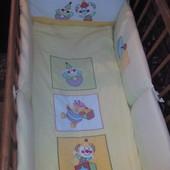 Комплект в кроватку Feretti (Феретти) защита+ постель