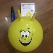 Мяч гимнастический детский Torneo A-300 55 см + насос + запасной клапан
