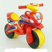 """Мотобайк """"Полиция"""" муз. 0139/56 (1) цвет красно-желтый """"Фламинго"""""""