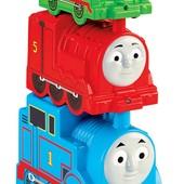 Пирамидка - паровозик Томас Fisher-Price my first Thomas the train, stacking steamies