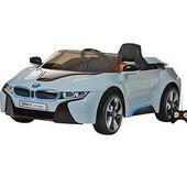 Детский электромобиль je 168 r-4 BMW i8 голубая