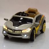 Лицензионный электромобиль BMW M 2701 er-11,серебро не автопокраска