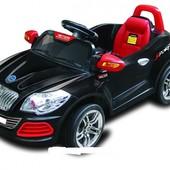 Детский электромобиль T-752 Black, чёрный
