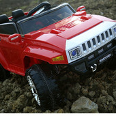 Детский Электромобиль FT2016 Hummer на eva колесах,красный
