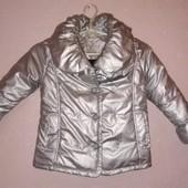 110рост)Стильная курточка на весну