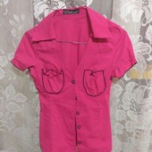 блузка с кармашками р.XS-S