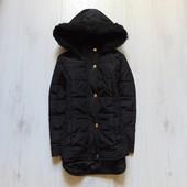 Стильная демисезонная куртка для девочки. Внутри тонкий слой синтапона. M&S. Размер 7-8 лет