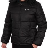 Мужской пуховик куртка зимняя Nike S-XXL