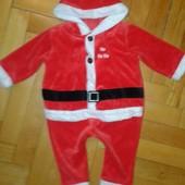 Человечек Санта,6-9 мес.реально до 1-1,5 года,отл.сост.замеры внутри!!!