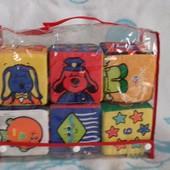 Мягкие кубики K's Kids