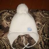 зимняя шапуля  42-44 обем