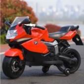 Лицензионный детский мотоцикл на аккумуляторе BMW Z 283-3, красный