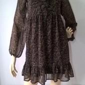 Платье женское шифоновое с принтом пейсли
