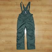180-185р Зимние штаны лыжные полукомбинезон Quechua, разм. L