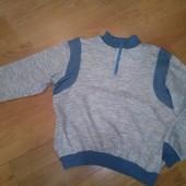 Теплая байка на флисе кофта свитшот свитер