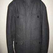 Размер М Мужское шерстяное пальто Bhs Еврозима\зима
