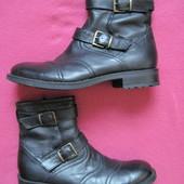 Roberto Santi (43, 28 см) кожаные зимние ботинки мужские
