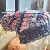Молодежная шапка, осень- весна на ОГ 55 -57