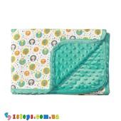 Двухстороннее хлопковое одеяло в пузырьки, BabyOno (Цвета в ассортименте)