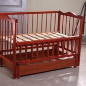 Кроватка Кузя с матрацем