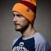 Теплая шапка зимняя   Pom Line