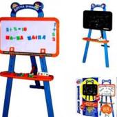 Доска знаний для рисования, детский мольберт (цыфры и буквы) Joy Toy