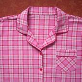 Байковая женская пижама размер 16 (L), б/у. Хорошее состояние, без пятен. Штаны - длина 97 см, шагов