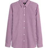 Классная рубашка h&m , легкая глажка