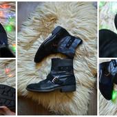 Стильные мужские ботинки кожа-замш р-р 45