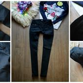 Плотные черные джинсы ASOS,р-р  С