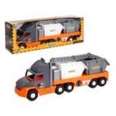 """Машина """"Super Truck"""", с строительным контейнером, в кор.27*82*20 см, ТМ Wader арт. 36760"""